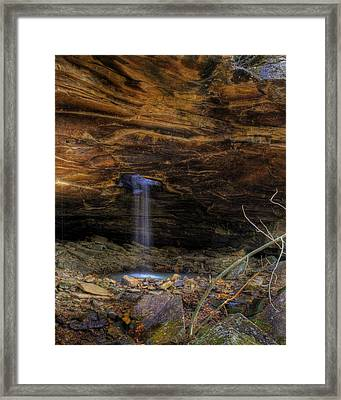 Framed Print featuring the photograph The Glory Hole by Michael Dougherty
