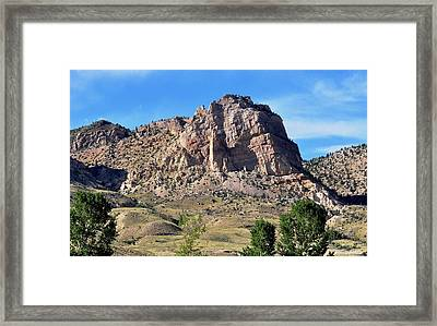 The Glory Of Wyoming Framed Print