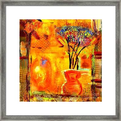 The Glow Of Joy Framed Print