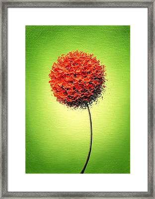 The Glow Framed Print by Rachel Bingaman