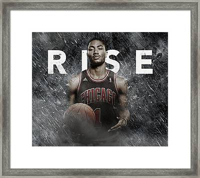 The Goat Framed Print by Jeric Barnutz
