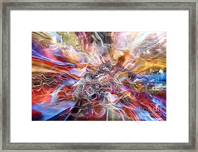 The God Of All Comfort Framed Print by Margie Chapman