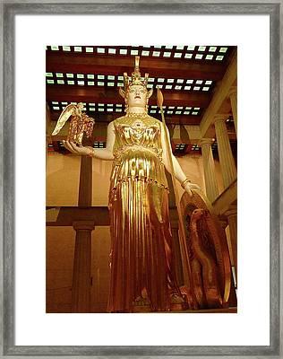 The Goddess Athena Framed Print