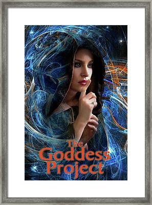 The Goddess Project Framed Print