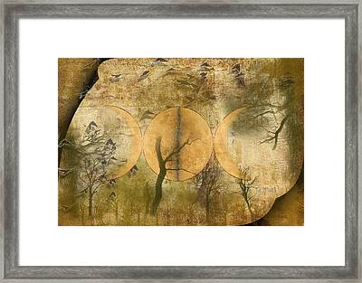The Goddess Framed Print