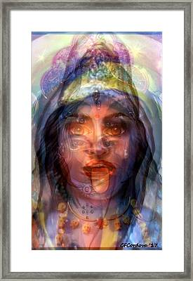 The Goddesses Within You Framed Print by Carmen Cordova