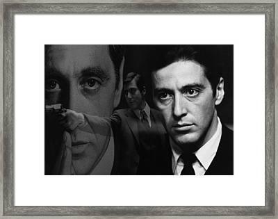 The Godfather Framed Print