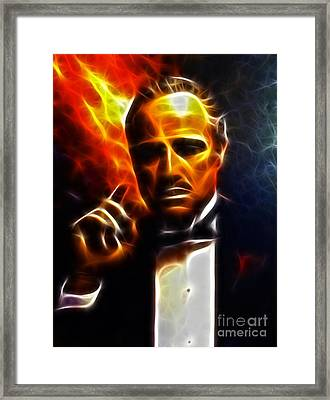 The Godfather Framed Print