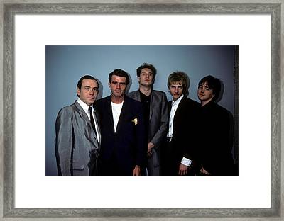 The Godfathers Framed Print by Rich Fuscia