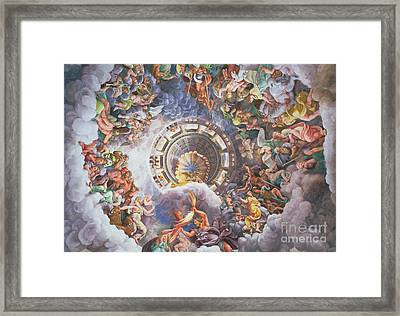 The Gods Of Olympus Framed Print