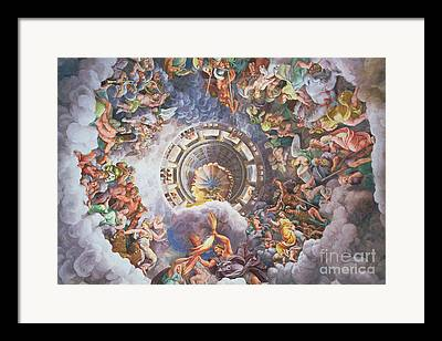 The Gods Of Olympus Paintings Framed Prints
