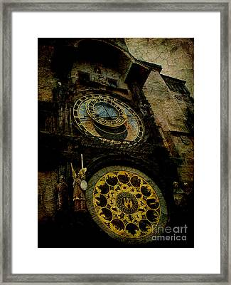 The Gods Of Time Framed Print by Lee Dos Santos