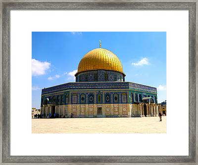 The Gold Dome Framed Print by Heidi Pix