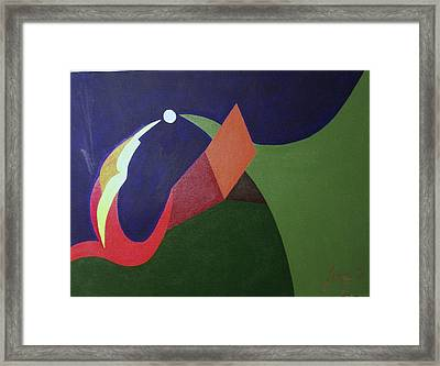 The Gold Orb Framed Print by Rod Ismay