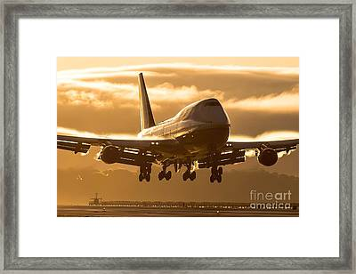 The Gold Standard Framed Print