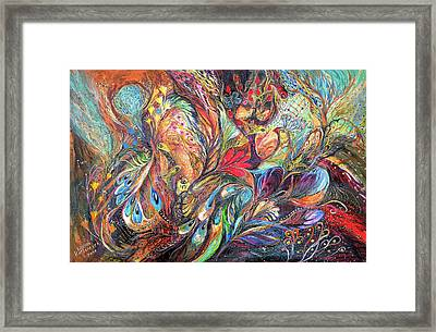 The Gold Times Framed Print by Elena Kotliarker