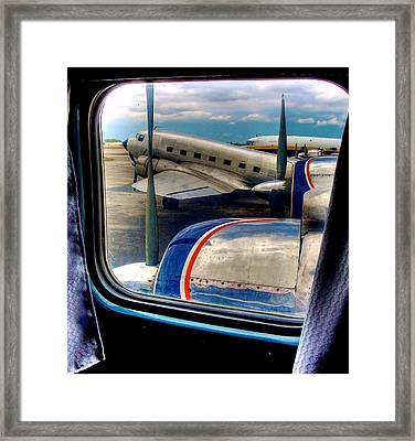 The Golden Age Of Flight -- Color Version Framed Print