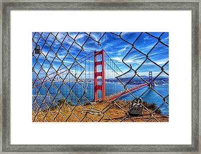 The Golden Gate Bridge  Framed Print