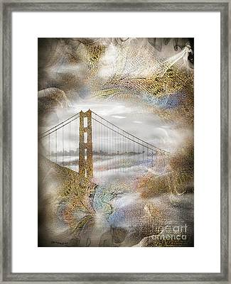 The Golden Gate Bridge Framed Print by Christine Mayfield