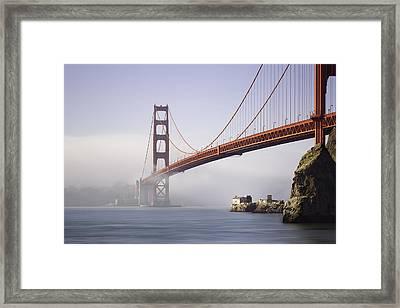 The Golden Gate Bridge Framed Print by Eduard Moldoveanu
