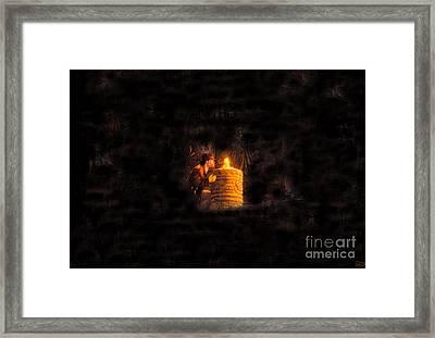 The Golden Idol Framed Print by David Lee Thompson