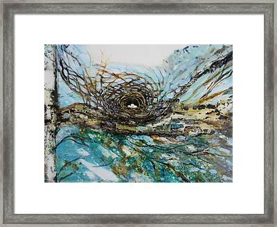 The Golden Nest Framed Print
