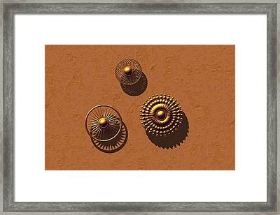 The Golden Ones Framed Print