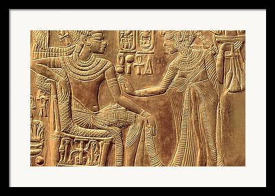 Tutankhamen Framed Prints