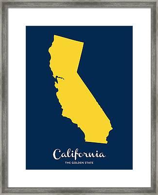 The Golden State Framed Print