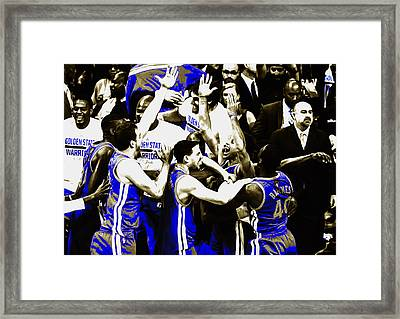 The Golden State Warriors Victorious Framed Print