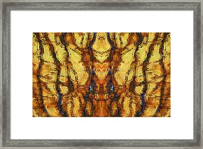The Golden Throne Framed Print by Dan Sproul