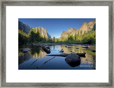 The Golden Valley Framed Print by JR Photography