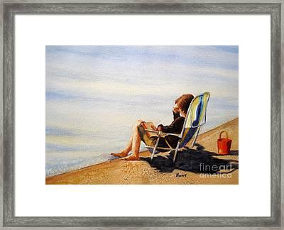 The Good Life Framed Print by Shirley Braithwaite Hunt