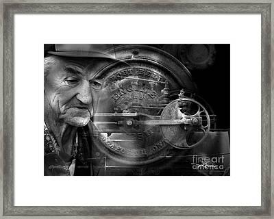 The Good Old Days Framed Print by Bob Salo
