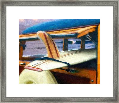 The Good Old Days Framed Print by Ron Regalado