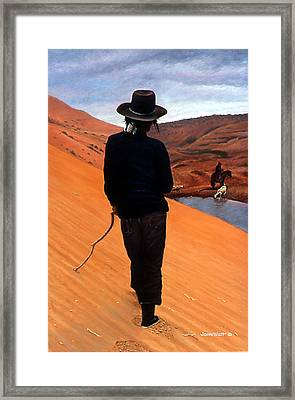 The Good Shepherd Framed Print by John Watt