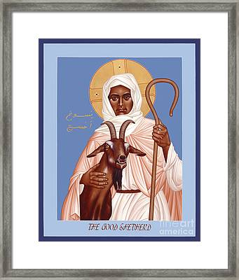 The Good Shepherd - Rlgos Framed Print