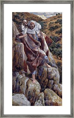 The Good Shepherd Framed Print by Tissot