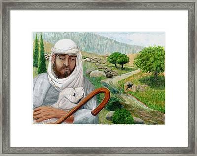 The Good Shepherd Framed Print by Todd Hatchett