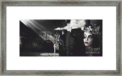 The Good The Bad And The Medi Evil Framed Print