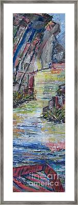The Gorge Framed Print by Judith Espinoza