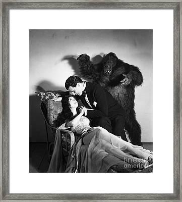 The Gorilla, 1930 Framed Print