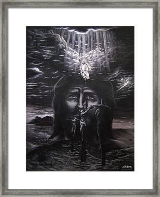 The Gospel Framed Print by Bill Stephens