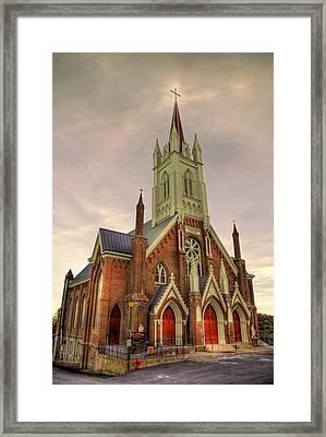The Gospel Framed Print by Bryan Steffy
