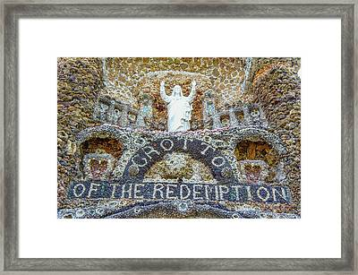 The Gotto Of The Redemption Framed Print by Art Spectrum