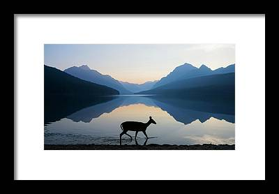 Mountain Peak Framed Prints