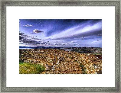 The Grainan View Framed Print by Kim Shatwell-Irishphotographer