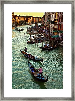 The Grand Canal Venice Framed Print