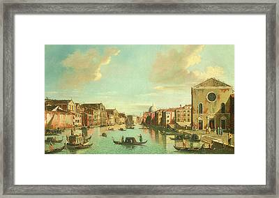 The Grand Canal  Venice Framed Print by William James
