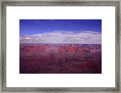 The Grand Canyon Framed Print by Christopher Kirby
